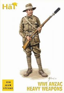 WWI ANZAC Heavy Weapons · HAT 8190 ·  HäT Industrie · 1:72