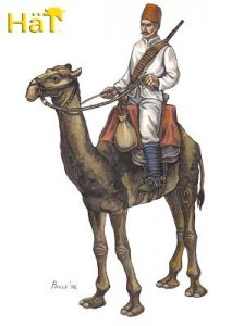Egyptian Camel Corps · HAT 8193 ·  HäT Industrie · 1:72