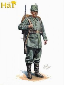 WWI German Jäger / 1.WK. Deutsche Jäger · HAT 8199 ·  HäT Industrie · 1:72