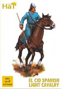 El Cid Spanish Light Cavalry · HAT 8201 ·  HäT Industrie · 1:72