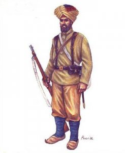 Colonial Wars Indian Infantry · HAT 8203 ·  HäT Industrie · 1:72