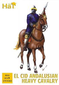 El Cid: Andalusische schwere Kavallerie · HAT 8215 ·  HäT Industrie · 1:72