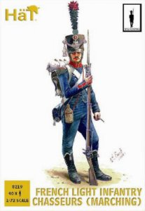 French Light Infantry Chasseurs (Marching) · HAT 8219 ·  HäT Industrie · 1:72