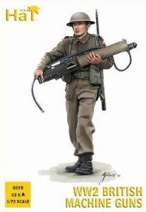 WWII British Machine Guns · HAT 8228 ·  HäT Industrie · 1:72