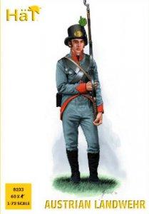 Austrian Landwehr · HAT 8233 ·  HäT Industrie · 1:72