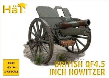 WWI British QF 4.5 inch Howitzer · HAT 8243 ·  HäT Industrie · 1:72