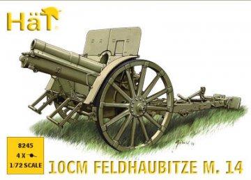 WWI 10 cm Feldhaubitze M. 14 Gun · HAT 8245 ·  HäT Industrie · 1:72