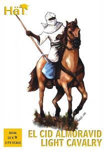 El Cid: Almoravidische leichte Kavallerie · HAT 8246 ·  HäT Industrie · 1:72