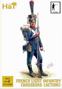 French Light Infantry Chasseurs (Action) · HAT 8251 ·  HäT Industrie · 1:72