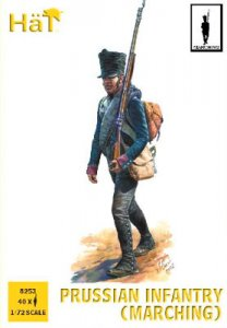 Prussian Infantry (Marching) · HAT 8253 ·  HäT Industrie · 1:72