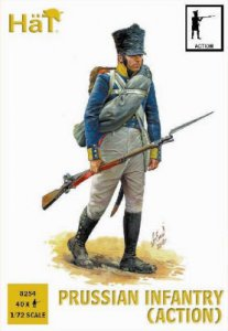 Prussian Infantry (Action) · HAT 8254 ·  HäT Industrie · 1:72