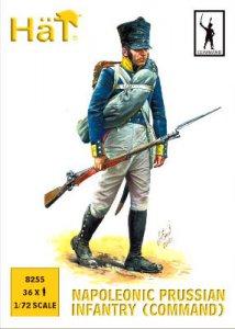 Prussian Infantry (Command) · HAT 8255 ·  HäT Industrie · 1:72