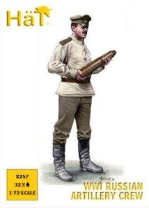 WWI Russian Artillery Crew · HAT 8257 ·  HäT Industrie · 1:72