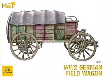 2. Weltkrieg: Deutsches Feldwagengespann. · HAT 8261 ·  HäT Industrie · 1:72