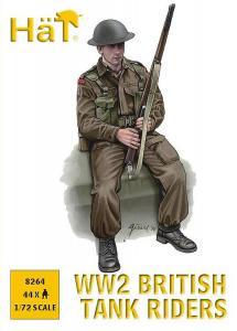 British Tank Riders · HAT 8264 ·  HäT Industrie · 1:72