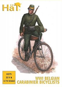 WWI Belgische Radfahrer · HAT 8275 ·  HäT Industrie · 1:72