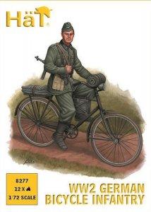 WWII Deutsche Infanterie auf Fahrrad · HAT 8277 ·  HäT Industrie · 1:72