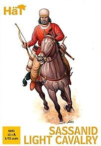 Sassanid leichte Kavallerie · HAT 8283 ·  HäT Industrie · 1:72