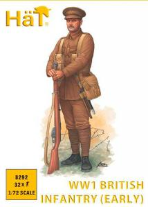 WWI Britische Infanterie · HAT 8292 ·  HäT Industrie · 1:72
