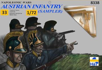 Österreichische Infanterie - Kommando · HAT 8338 ·  HäT Industrie · 1:72