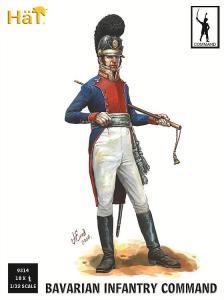 Napoleonische Kriege: Bayrische Infanterie, Kommando. · HAT 9314 ·  HäT Industrie · 1:32