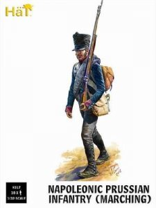 Prussian Infantry Marching · HAT 9317 ·  HäT Industrie · 1:32