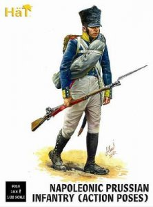 Prussian Infantry Action Poses · HAT 9318 ·  HäT Industrie · 1:32