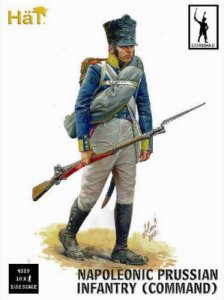 Prussian Infantry Command · HAT 9319 ·  HäT Industrie · 1:32