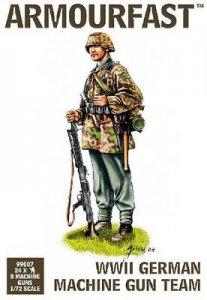 WWII German Machine Gun Crew · HAT 9907 ·  HäT Industrie · 1:72