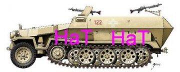 Sdkfz 251/1 Hanomag · HAT 9919 ·  HäT Industrie · 1:72