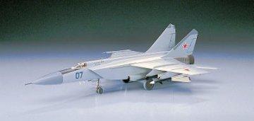 MiG 25 Foxbat · HG 600434 ·  Hasegawa · 1:72