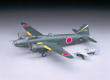 Mitsubishi G4M2E T.1 (Betty)Md.24 w/MXYZ Ohka Md.11 IJN · HG 600550 ·  Hasegawa · 1:72