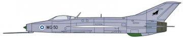 MiG-21 & MiG-17 Combo Part 2 (2Kits/Box) · HG 600950 ·  Hasegawa · 1:72