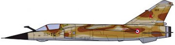 Mirage F.1CR Combo (2 Kits/Box) · HG 600957 ·  Hasegawa · 1:72