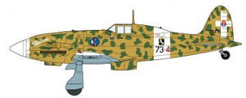 Macchi C.202 Folgore Combo (2 Kits/Box) · HG 600992 ·  Hasegawa · 1:72