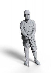 WWI Japanischer Panzer Kommandant · HG 601005 ·  Hasegawa · 1:16
