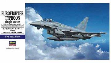 Eurofigther Typhoon Single Seater. · HG 601570 ·  Hasegawa · 1:72