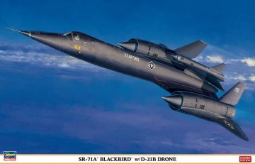 SR-71A Blackbird w/D21B Drone · HG 602041 ·  Hasegawa · 1:72