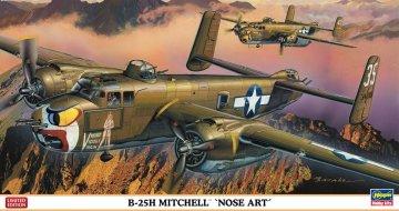 B-25H Mitchell Nose Art · HG 602058 ·  Hasegawa · 1:72