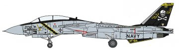 F14A Tomcat, VF-84 JollyRoger · HG 602269 ·  Hasegawa · 1:72