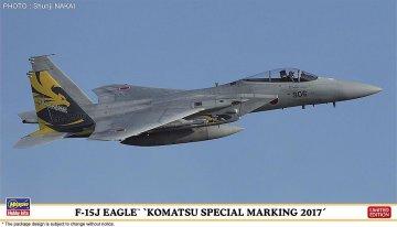 F15J Eagle Komatsu Special Marking 2017 · HG 602272 ·  Hasegawa · 1:72