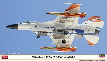 Mitsubishi F-2A ADTW w/ASM-3 · HG 602274 ·  Hasegawa · 1:72