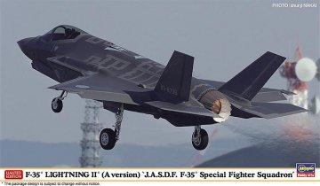 F35 Lightning II, JASDF F35 Special Fighter Squadron · HG 602284 ·  Hasegawa · 1:72