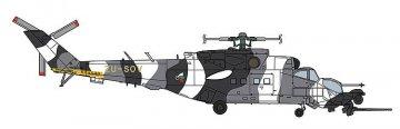 Mi-24/35 Mk. III Superhind, Grey Camouflage · HG 602297 ·  Hasegawa · 1:72