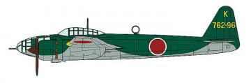 Kugisho P1Y2 Ginga, Type 16, 762nd Flying Group · HG 602323 ·  Hasegawa · 1:72