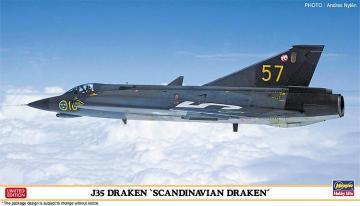 J35 Draken, Scandinavian Draken · HG 602330 ·  Hasegawa · 1:72