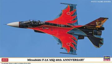 Mitsubishi F2A, 6sq 60th Anniversary · HG 602331 ·  Hasegawa · 1:72
