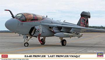 EA-6B Prowler, Last Prowler VMAQ-2 · HG 602335 ·  Hasegawa · 1:72