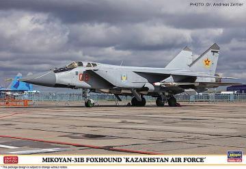 Mikoyan 31B Foxhound Kasachische Luftwaffe · HG 602336 ·  Hasegawa · 1:72