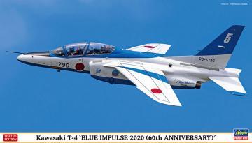 Kawasaki T4, Blue Impulse 2020 - 2 Bausätze · HG 602356 ·  Hasegawa · 1:72